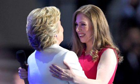 Η Χίλαρι Κλίντον και η κόρη της Τσέλσι