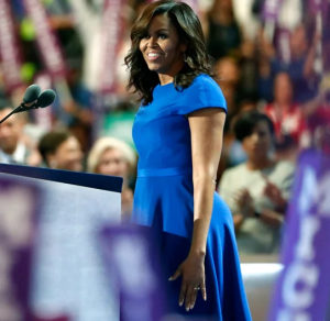 H Miσέλ Ομπάμα στο συνέδριο των Δημοκρατικών στη Φιλαδέλφεια
