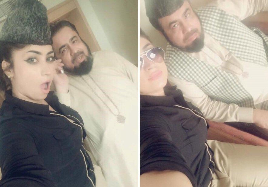 Qandeel-Baloch συνάντηση με κληρικό